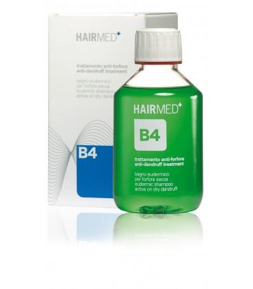 Shampoo B4 - Bagno Eudermico attivo per cute con forfora secca - Hairmed