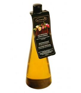 Olio massaggio Tribale Hammam - con Olio di Argan, Olio di Rosa e Tea Verde - La Cremerie
