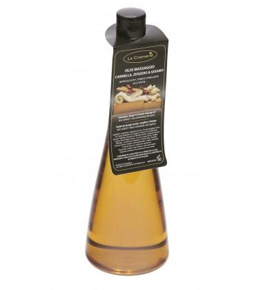 Olio massaggio Cannella, Zenzero & Sesamo - La Cremerie