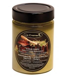 Scrub corpo Miele & Fieno Biologico - La Cremerie