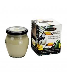 Crema corpo Vaniglia & Avocado - Elasticizzante, Coadiuvante smagliature - La Cremerie