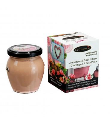 Crema corpo Champagne & Petali di Rosa - La Cremerie