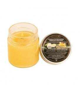 Candela da massaggio Vaniglia & Avocado - La Cremerie