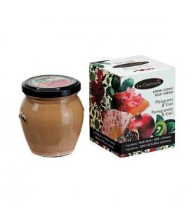 Crema corpo Melograno & Kiwi - Idratante, Antiradicali liberi - La Cremerie