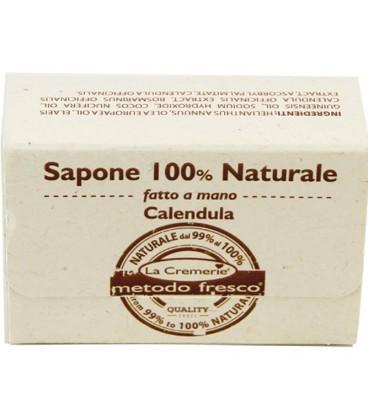 Sapone Calendula 100% Naturale fatto a mano - La Cremerie