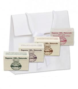 Kit Regalo 4 saponi 100% Naturali fatto a mano - La Cremerie