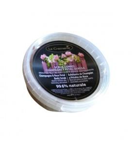 Scrub corpo Champagne & Petali di Rosa - La Cremerie