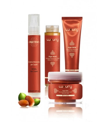 LUXURY HAIR&BODYCARE ARGAN VELVET KIT Green Light