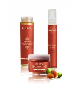 LUXURY HAIRCARE ARGAN VELVET KIT Green Light