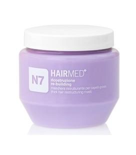 N7 - Maschera Ristrutturante Capelli Grossi Cheratina - Hairmed