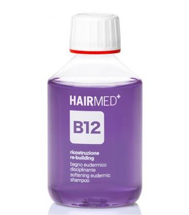 Shampoo B12 - Bagno Eudermico Disciplinante Capelli Ribelli - Hairmed