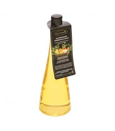 Olio massaggio Agrumi di Sicilia - La Cremerie