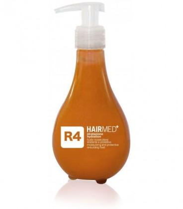 R4 - Fluido Ricostruttore Idratante Cheratina Volumizzante - Formato Professionale - Hairmed