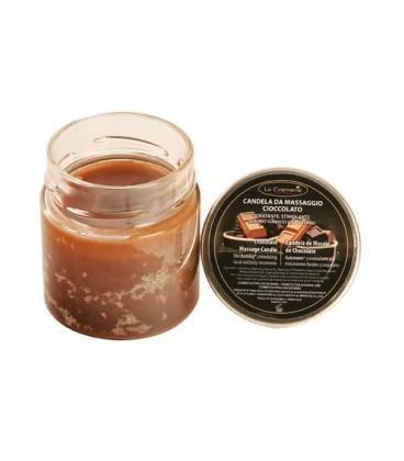 Candela da massaggio Cioccolato - La Cremerie