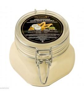 Crema Massaggio Corpo Cocco Papaya e Mandorla - La Cremerie
