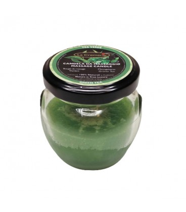 Candela da massaggio Tea Verde 50ml - La Cremerie