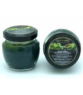 Scrub corpo Tea verde e Vitamina E 100gr - La Cremerie