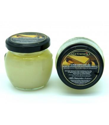 Scrub corpo Oro 24k Acido Jaluronico & Cellule Staminali Vegetali 100gr - La Cremerie