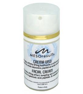 Crema Viso MESOresults con liquirizia, acido ialuronico, peptidi ed acido mandelico - La Cremerie