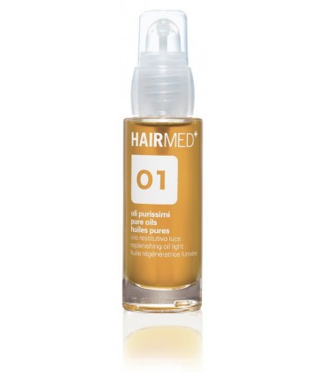O1 - Olio per capelli luminosi - Hairmed