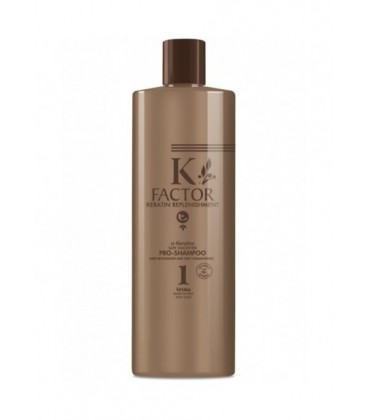 K-FACTOR a-KERATINS SAFE SMOOTHER - PRO SHAMPOO 1 - USO PROFESSIONALE - Tecna - 500ml