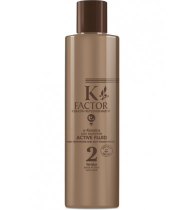 K-FACTOR a-KERATINS SAFE SMOOTHER - ACTIVE 2 - USO PROFESSIONALE - Tecna - 250ml