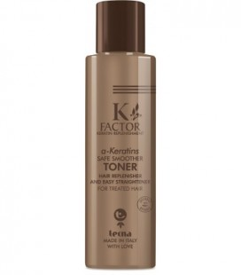 K-FACTOR a-KERATINS SAFE SMOOTHER - COOL TONER - USO PROFESSIONALE - Tecna - 150ml