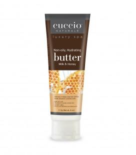 Latte e Miele Burro per idratazione corpo, mani e piedi - 113gr - Cuccio naturalé