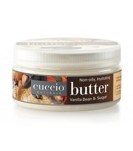 Vaniglia e zucchero di canna Burro per idratazione corpo, mani e piedi - Cuccio naturalé