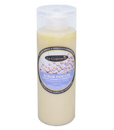 Scrub Doccia Yougurt, Manna e Prebiotici - Riequilibrante, nutriente, idratante - La Cremerie