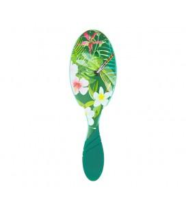 Pro Detangler Neon Floral Tropics - Spazzola Districante Verde - Wet Brush