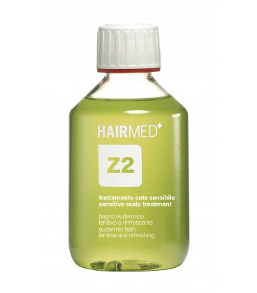 Shampoo Z2 - Bagno Eudermico lenitivo rinfrescante uso frequente - Hairmed