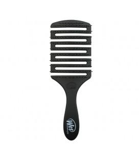 Flex Dry Paddle Black - Spazzola Squadrata Scioglinodi e Asciugatura Nera - Wet Brush