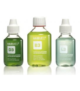 Trattamento antiforfora grassa - purificante, shampoo, lozione D3 - B3 - L3 - Hairmed