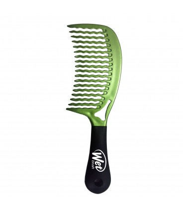 Detangle Comb Mermaid Green - Pettine Districante Nero - Wet Brush