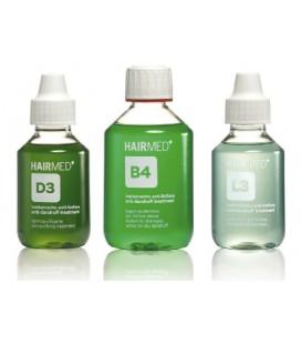 Trattamento antiforfora secca - purificante, shampoo, lozione D3 - B4 - L3 - Hairmed