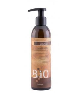 B.iO Maschera Professionale Ristrutturante - Capelli Crespi e Stressati - BIO Sinergy Cosmetics