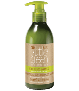 Little Green Cares Kids - Lice Guard Shampoo - Shampoo Antipidocchi - Non tossico - Pelli Sensibili - 240ml