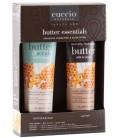 Cuccio Naturale Milk & Honey Essentials Gift Pack - Burro e Scrub Mani Piedi Corpo - Idratante e Esfoliante Intensivi