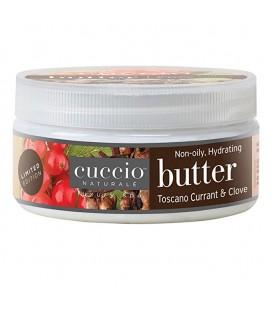 Ribes e Chiodi di Garofano Burro per idratazione corpo, mani e piedi - Toscano Currant & Clove - Cuccio naturalé