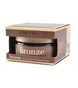 Bronze Shimmer Butter Blend Burro per idratazione corpo, Illuminante con Moringa e Mango - 240ml - Cuccio naturalé