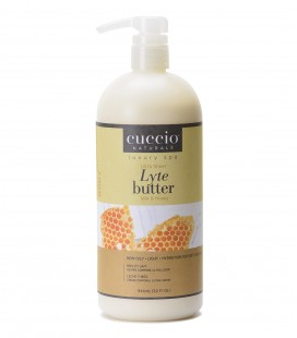 Latte e Miele Lyte Ultra Sheer Body Butter Honey & Soy Milk 946ml - Cuccio naturalé