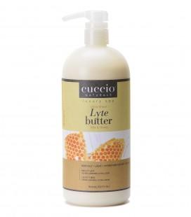 Latte e Miele Lyte Ultra Sheer Body Butter Honey & Soy Milk 946ml - Cuccio naturalé