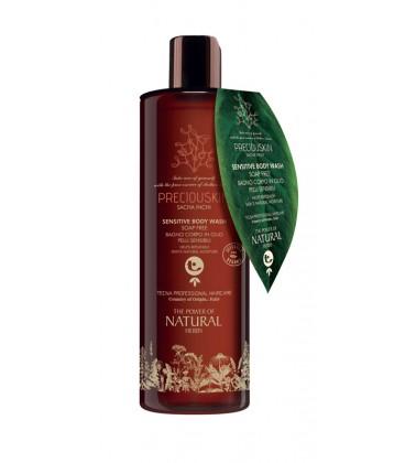 PreciousSkin Sasha Inchi Sensitive Body wash Bagno corpo in olio Pelli Sensibili - Tecna - 400ml