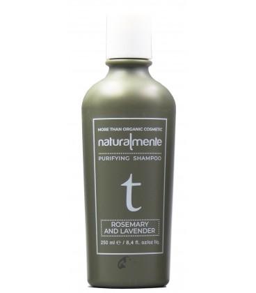 Shampoo Rosmarino e Lavanda – Rosemary, Lavender – Protettivo Cute - Naturalmente – 250ml