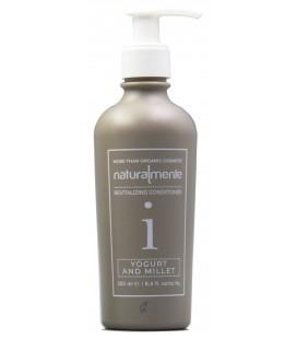 Conditioner Nature Inside Yogurt e Miglio - balsamo capelli trattati, danneggiati, secchi, opachi – Naturalmente – 250ml