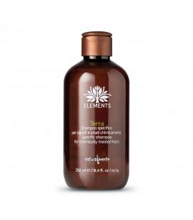 Shampoo Terra Elements - Capelli Sfibrati - Naturalmente – 250ml