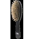 Spazzola TEK Professional ovale grande nera con dente corto FSC 100%
