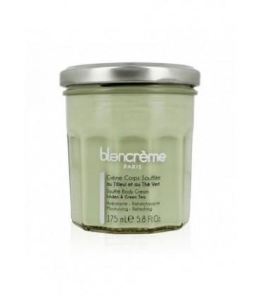 Crema Corpo Tiglio e Tea Verde - Rilassante, Disintossicante - Blancrème - 175ml