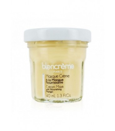 Maschera Viso Mango e Cocco - Nutriente - Blancrème - 40ml